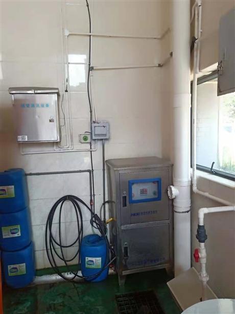 垃圾站喷淋除臭系统工程器材安装