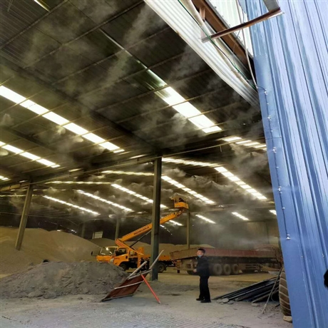 许昌料棚喷雾降尘系统保养方法