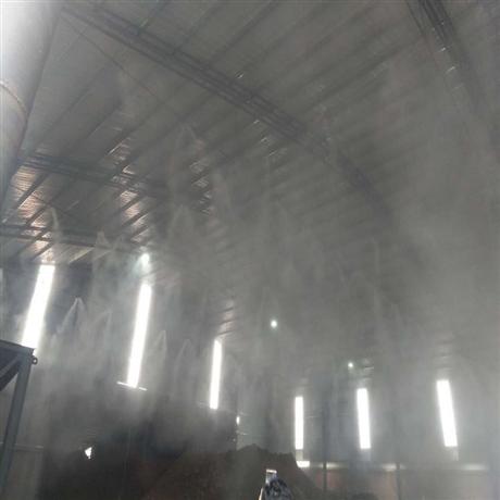 中牟料仓喷雾加湿系统上门安装