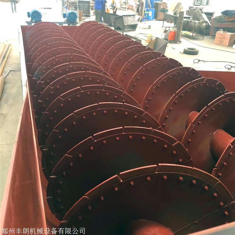 762型沉没式螺旋分级机 金矿石洗石机 石粉洗砂机