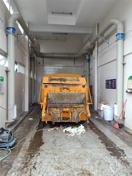 垃圾站负压收集除臭系统安装