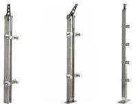 不锈钢栏杆立柱 驳接爪