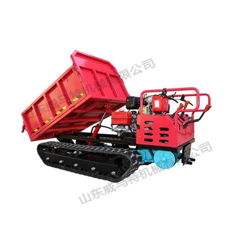 手扶式1.5吨履带运输车 履带式全地形运输车报价  吉林运输车价格