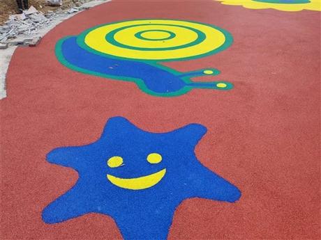 环保多色EPDM幼儿园塑胶