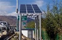 吉林地区可用太阳能监控供电系统