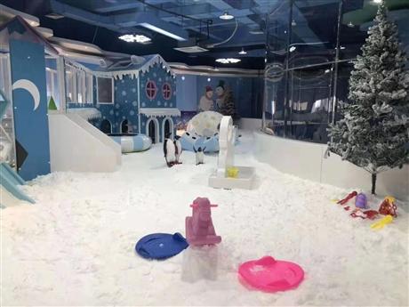 大型百万球池大滑梯滑雪乐园价位