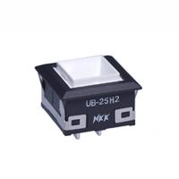 日本进口UB25KKW016B扁薄型发光按钮开关