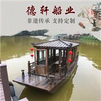 可以開的傳統木船仿古游船哪家好