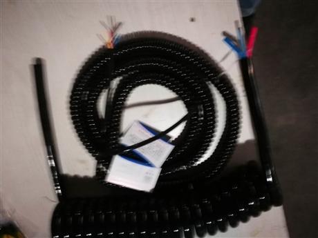 3芯2.5平方 水下集鱼灯耐海水电缆 PU电缆 螺旋电缆