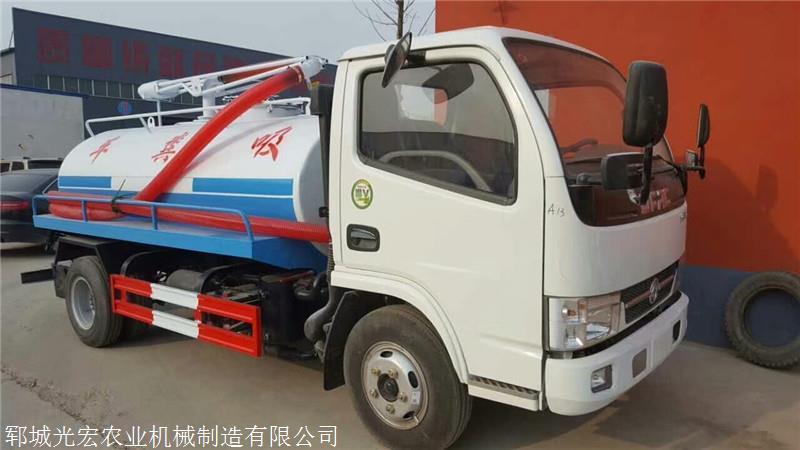 通许县东风多利卡5吨吸粪车厂家