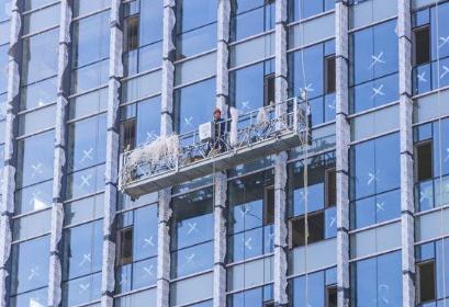 深圳外墙玻璃更换及制作施工方案