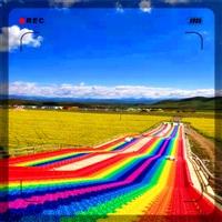 巨有光明的前景 泰松七彩滑道场地设计 彩虹滑道场地规划 游乐场