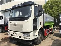上京牌的解放J6洒水车 多功能水罐车 园林绿化喷洒车厂家价格图片