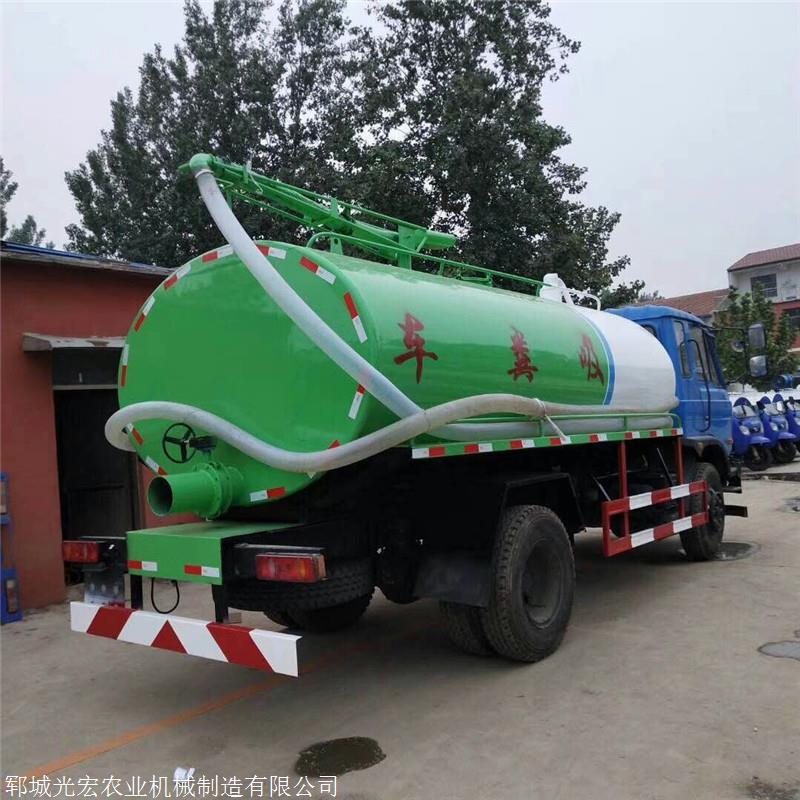 稷山县东风专底12方真空吸粪车多少钱一辆
