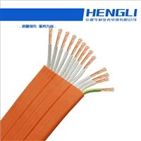 1.7mm聚乙烯20M电阻RVVY2G圆型扁电缆
