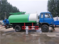 现货供应东风多利卡5吨蓝牌吸粪车价格