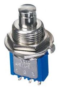 进口8646AB高可靠性6脚小型自锁定按钮开关UL认证