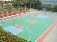 承接丙烯酸篮球场 硅PU篮球场 EPDM塑胶球场 全国施工