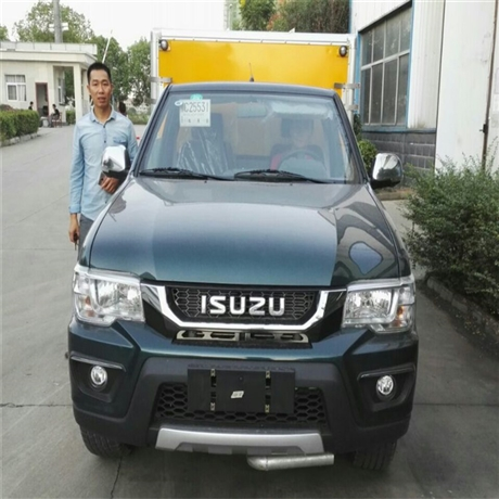 重慶爆破器材運輸車廠家,慶鈴皮卡爆破器材運輸車價格