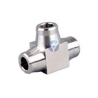 方形焊接對焊式三通、高壓承插焊三通接頭