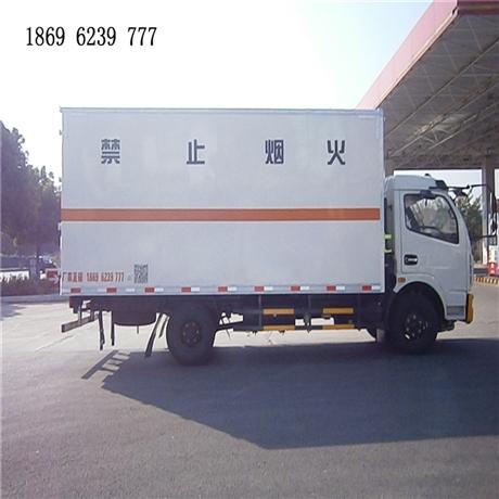 选东风多利卡6.7吨国五易燃气体厢式运输车,享东风服务