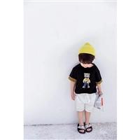 韓版兒童裙 童話泡泡韓版童裝兒童服裝品牌 皮球熊 兒童夏季童裝