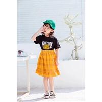 小c兒童服裝童裝夏季女 大米果果韓新款童裝 潮流夏季童裝