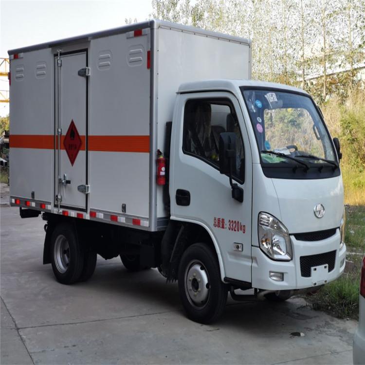液化气瓶运输车/气瓶车/氧气瓶运输车/易燃气体厢式运输车