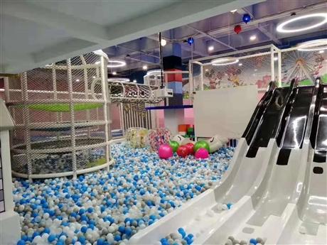 淘气堡  儿童乐园 百万球池 设备款式多样 厂家直销