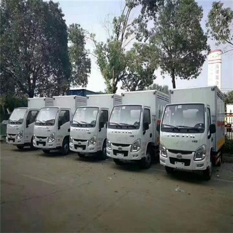 小型气瓶运输车/微型易燃气体厢式运输车/跃进液化气瓶运输车价格