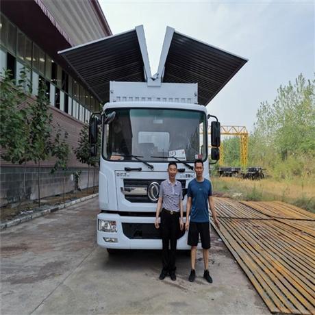 飞翼车价格,东风多利卡飞翼车厂家,湖北襄阳飞翼车专业改装厂