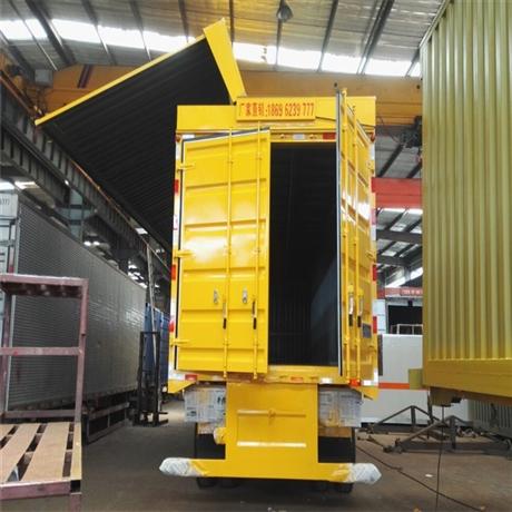 江西半挂车 13米半挂飞翼车正规生产厂家