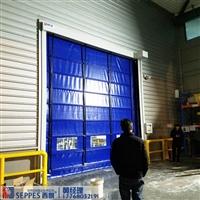 供口罩厂房需要的防尘快速堆积门