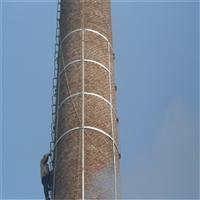 山西磚煙囪加固 水泥煙囪加固 煙囪維修工程