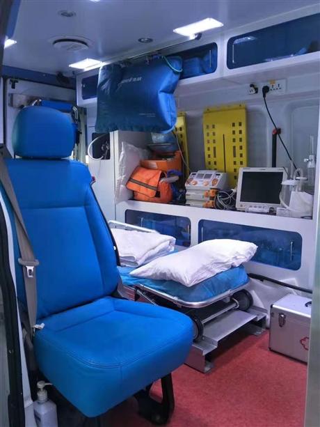潮州市湘桥区跨省救护车出租转运服务