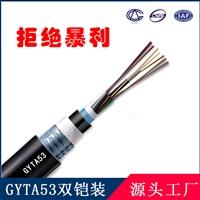 长光直埋光缆GYTA53国标室外光缆 双铠双护套重铠地埋光缆