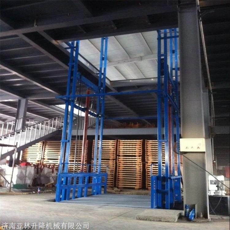 3米货物升降机 3吨液压升降货梯 简易货物电梯 升降平台厂家