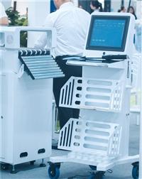 智慧圖書館  圖書館盤點設備 RFID移動盤點定位車