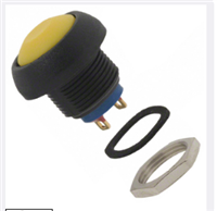 金属按钮开关型号ISR3SAD500背面安装按键开关