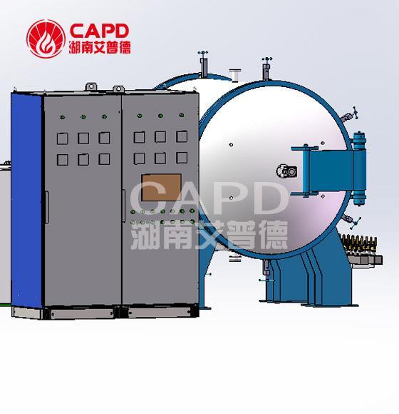 超高溫石墨化爐