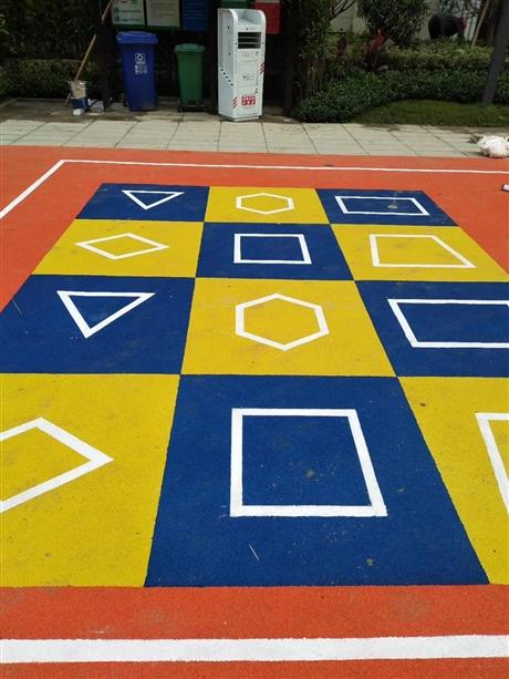 防腐蚀彩色塑胶地坪