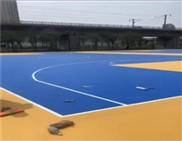 象山县小区塑胶地坪施工