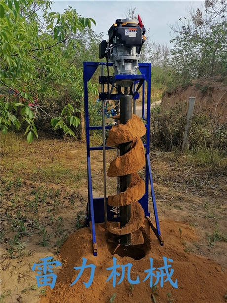 桩芯掏土专用工具-螺旋挖泥取土机器