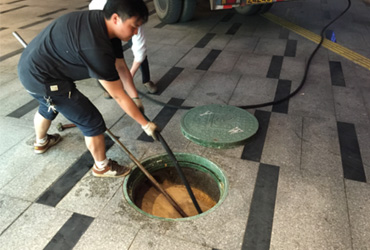 东莞虎门污水池及隔油池清理、管道清淤、管道疏通、抽粪