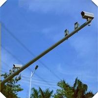 湖南厂家直销 LED交通信号灯杆 定制道路红绿交通信号灯标志杆