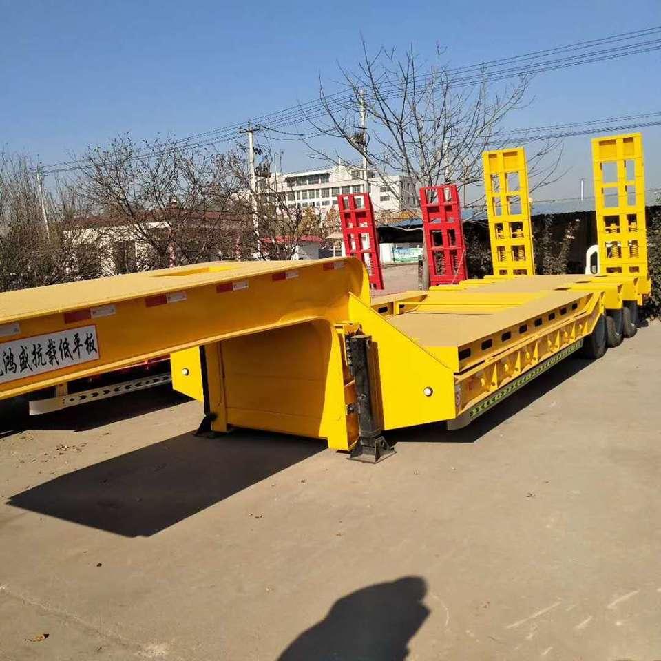 大件运输低平板半挂车生产配置及价格