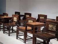 閔行區紅木家具回收 紅木八仙桌回收 老紅木家具