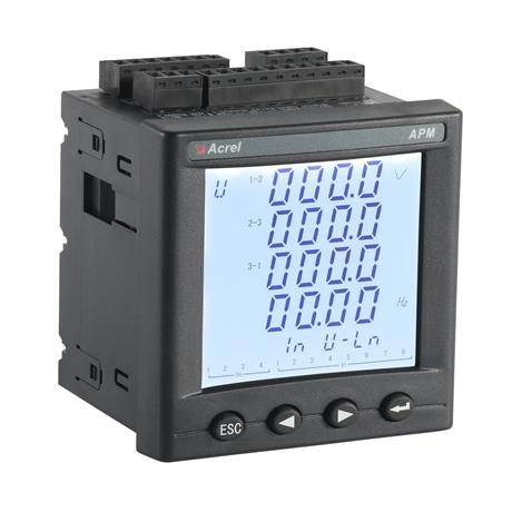 安科瑞APM800嵌入式安装电能表 精度0.5S级