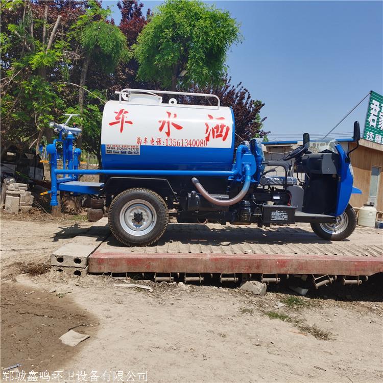 吉林柴油灑水車,半封閉灑水車圖片