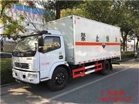 杭州市国六东风多利卡易燃气体厢式车 东风蓝牌4.2米
